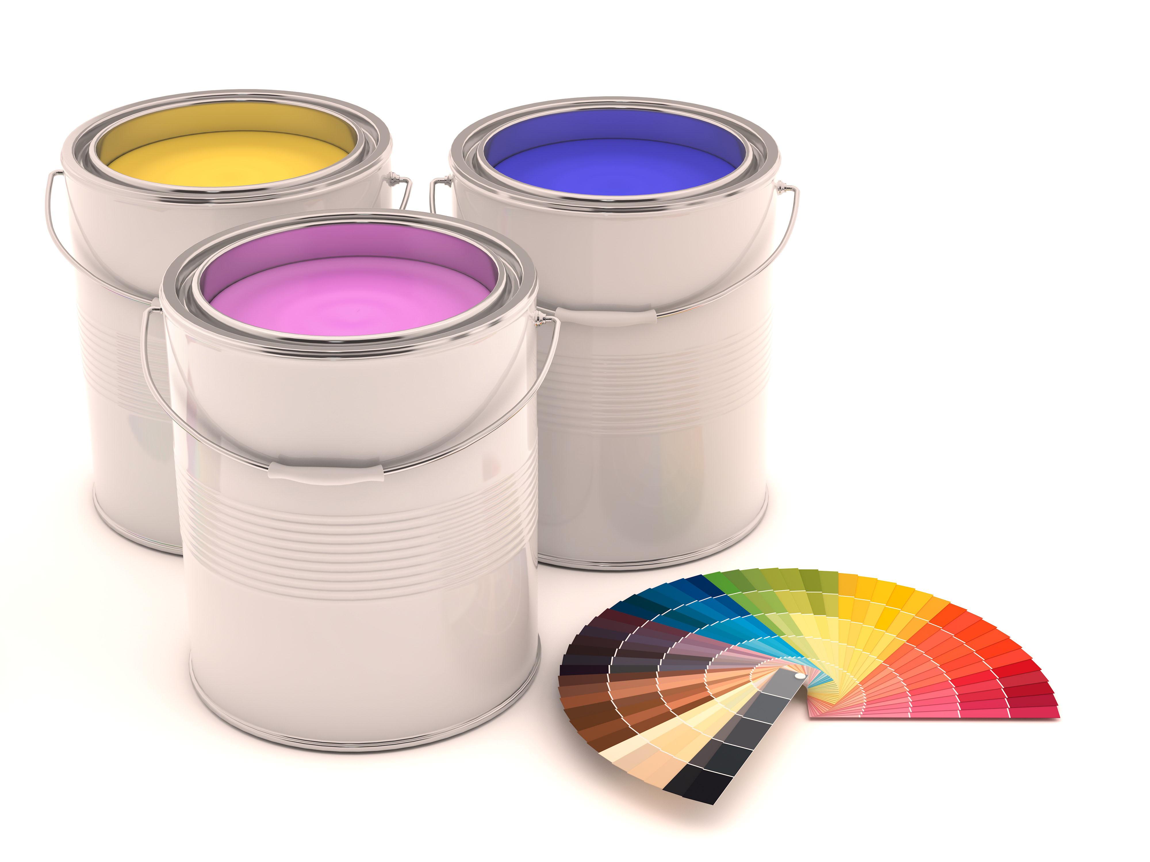 Farby do ścian kolorowe